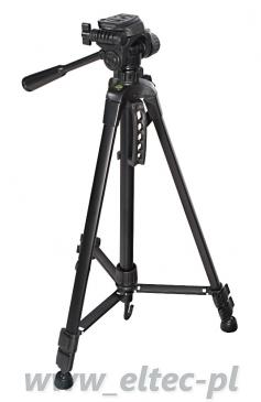 Statyw fotograficzny 162cm, z głowicą 3D i futerałem, model ST-540