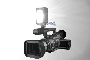 Lampa do kamery LED, model FV-DC60 - WYPRZEDAŻ