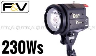 WYSTAWOWA - Lampa błyskowa o mocy 230Ws, model FV-230d (Bowens)
