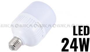 Żarówka E27 LED 24W 5500K zakryta