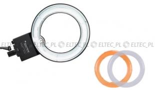 Lampa pierścieniowa RING NG-65C 65W - ŚWIATŁO STAŁE model 2K (dwa dyfuzory)
