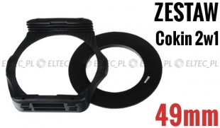 Zestaw COKIN P 2w1 holder adapter 49mm
