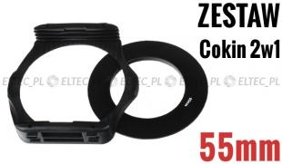 Zestaw COKIN P 2w1 holder adapter 55mm