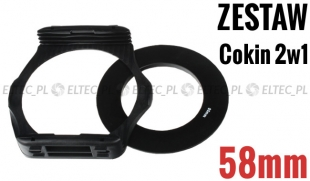 Zestaw COKIN P 2w1 holder adapter 58mm