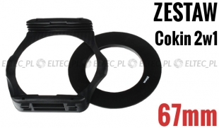 Zestaw COKIN P 2w1 holder adapter 67mm