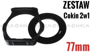 Zestaw COKIN P 2w1 holder adapter 77mm