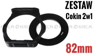 Zestaw COKIN P 2w1 holder adapter 82mm