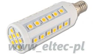Żarówka E14 44 LED 5050 SMD CIEPŁA 6,5W=65W CORN