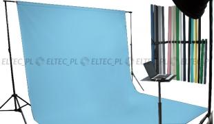 Tło kartonowe 2,72 x 11m na tulei / kolor nr. 173 CORTEZ BLUE niebieskie