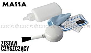 Zestaw czyszczący MASSA do optyki 5w1