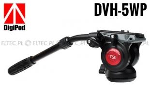 Głowica statywowa video DVH-5WP, 360 stopni