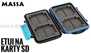 Wodoodporne ETUI na karty pamięci 8xSD/SDHC lub 4xCF, model MC-SD8