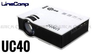 Projektor, rzutnik do komputera 800x480 UC40