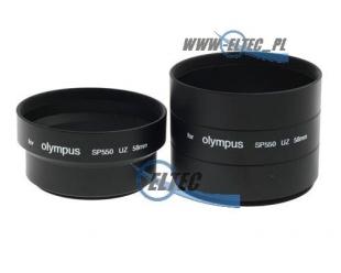 Tulejka do OLYMPUS SP-550 SP550 SP-560 SP560 SP-560UZ 58mm (czarna)