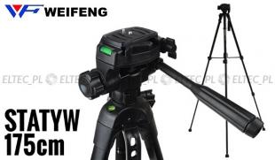 Profesjonalny statyw foto/video 175cm, model ST-560