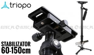 Stabilizator obrazu FLYCAM monopod 150cm, model T-28043 (do 4,5kg)