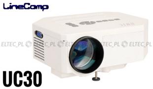 Projektor, rzutnik do komputera 480x320 UC30