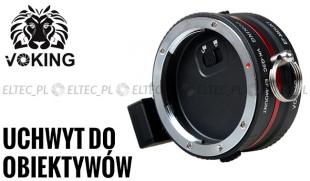 Uchwyt do dwóch obiektywów Canon VK-Q3C