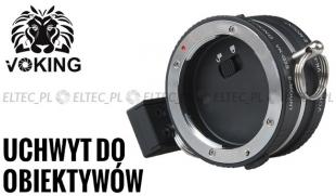 Uchwyt do dwóch obiektywów Sony NEX VK-Q3S