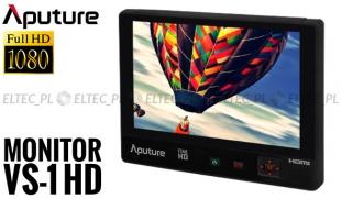"""Monitor poglądowy HDMI 7"""" APUTURE VS-1 Full HD FineHD"""