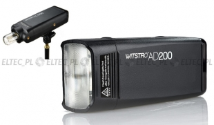 Lampa studyjna POCKET FLASH przenośna AD200 200ws