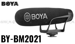 Mikrofon pojemnościowy kierunkowy BOYA, model BY-BM2021