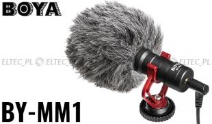 Mikrofon pojemnościowy BOYA BY-MM1