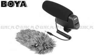 Mikrofon pojemnościowy typu SHOTGUN, model BY-VM600