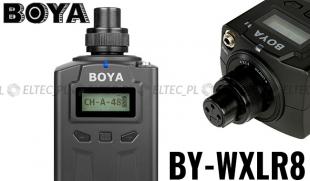 Nadajnik Transmiter do mikrofonów BOYA, model BY-WXLR8