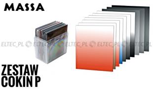Zestaw COKIN P PRO: 10 filtrów + etui