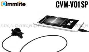 Mikrofon pojemnościowy z klipsem CVM-V01 SP, do telefonu