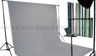 Tło kartonowe 2,72 x 11m na tulei / kolor nr. 172 DARK GRAY szare
