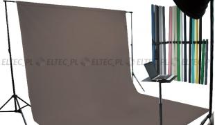 Tło kartonowe 2,72 x 11m na tulei / kolor nr. 109 DOVE GRAY szare