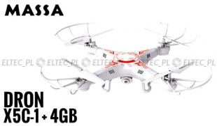 Dron X5C-1 0,3Mpx + karta 4GB
