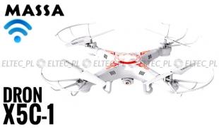 Dron X5C-1 2Mpx WiFi