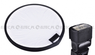 Dyfuzor płaski, softbox do lampy błyskowej 40 cm