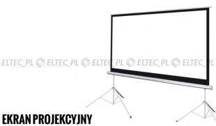 Ekran projekcyjny 280x210cm 4:3 manualny, na dwa statywy