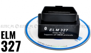Interfejs ELM 327 Bluetooth mini