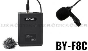 Mikrofon BOYA BY-F8C