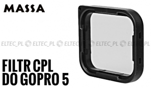 Filtr CPL do GoPro HERO 5 (GP929)