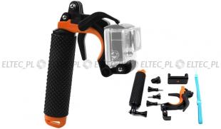 Uchwyt pistoletowy do nurkowania 2w1 - kamera GoPro i telefon (GP932)
