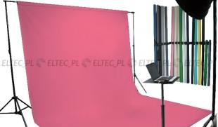 Tło kartonowe 2,72 x 11m na tulei / kolor nr. 163 HOT PINK różowe
