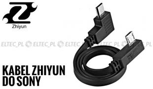 Kabel Zhiyun Crane, Crane-M do aparatu Sony