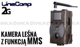 Kamera leśna z MMS 2G GPRS, fotopułapka 12MP, model 350M
