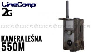 Kamera leśna z MMS 2G GPRS, fotopułapka 16MP, model 550M