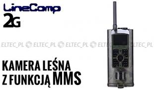 Kamera leśna z MMS 2G GPRS, fotopułapka 16MP, model 700M