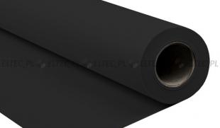Tło kartonowe 2,72 x 10m na tulei / kolor nr 009 BLACK czarne 140g/m2