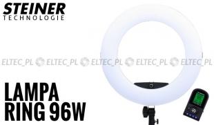 Lampa pierścieniowa LED RING 5500K ŚCIEMNIACZ 96W model FE-480