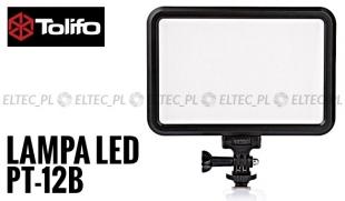 Lampa Panelowa LED 3200-5600K, model Tolifo PT-12B