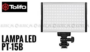 Lampa Panelowa LED 3200-5500K, model Tolifo PT-15B